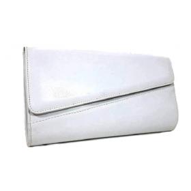 Clutch bag NB09 White matte OEM No Νame (Εισαγωγής) - 1